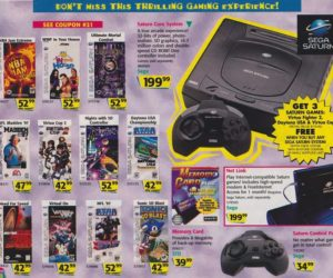 Toys R Us Catalog Sega Saturn