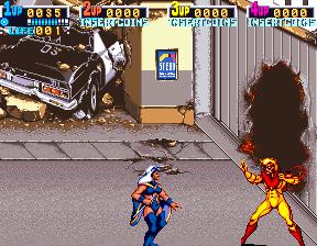X-Men Police Car