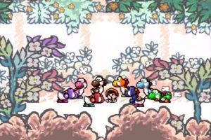 Yoshi's Island Opening Scene