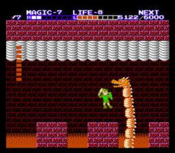 Zelda II - The adventure of Link Boss Battle
