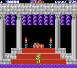 Zelda II - The adventure of Link Opening Stage