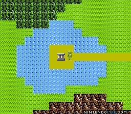 Zelda II - The adventure of Link Overworld
