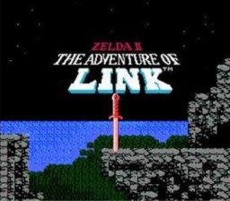 Zelda II - The adventure of Link Title Screen